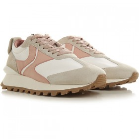 Voile Blanche Women Sneakers White Leather Sale KARGK6632