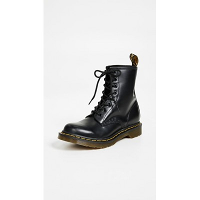 Dr. Martens Young Ladies 1460 8 Eye Boots Black ZUKE628