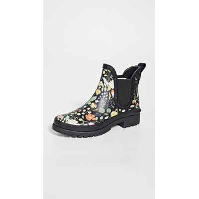 Keds Young Ladies x Rifle Paper Co. Chelsea Boots Black In Sale SBAB323