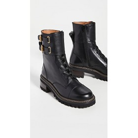 See by Chloe Womens Mallory Boots Black For Sale SUMX850
