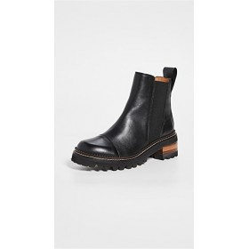 See by Chloe Young Women's Mallory Chelsea Boots Nero quality UMFK754
