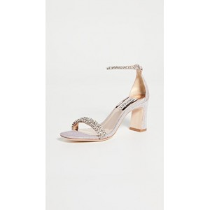 Badgley Mischka Girl's Harriet Ankle Strap Sandals Rose Pink most comfortable HYPX879