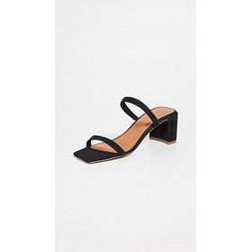 BY FAR Women's Tanya Sandals Black Boutique WKMD503