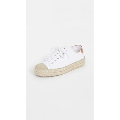 JW Anderson Young Ladies Espadrille Trainers White QEEA211