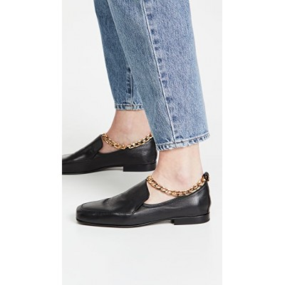 BY FAR Women's Nick Loafers Black Clearance Sale MMUC953