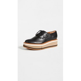 Clergerie Young Ladies Brook5 Platform Oxfords Black in style ZZZC507