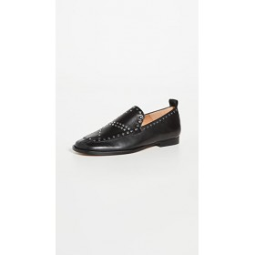 Isabel Marant Women Studded Loafers Black Fitted SLCZ385