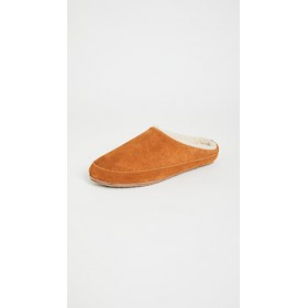 Madewell Young Women's Suede Scuff Slippers Golden Pecan New Arrival HFVR175