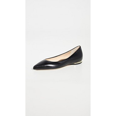 Marion Parke Young Ladies Must Have Flats Black New Season FDUG762